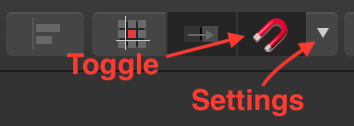 Affinity Designer Snap Button