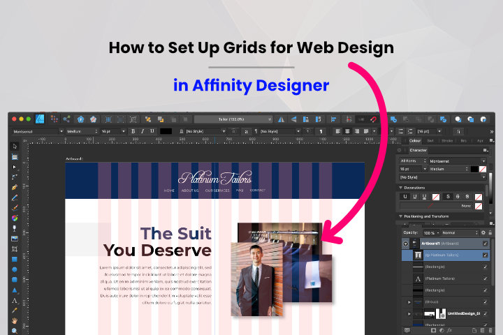 How to Set Up Grid in Affinity Design