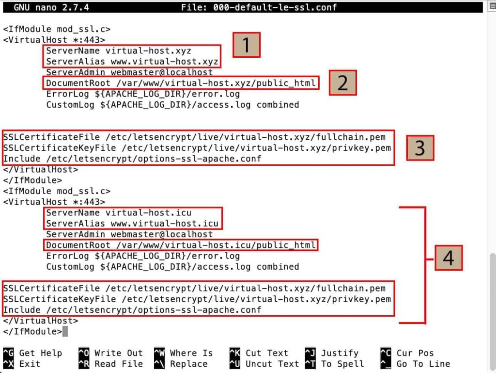 Virtual Host 443 Config