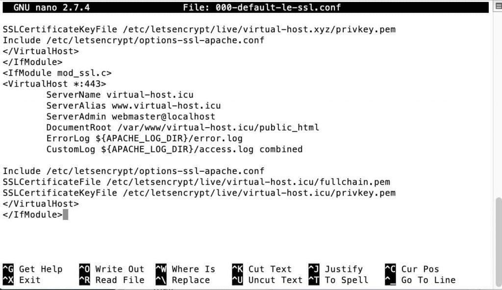 Substitute SSL Path